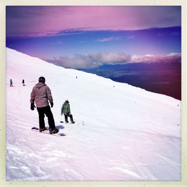 Skiing. Day 3
