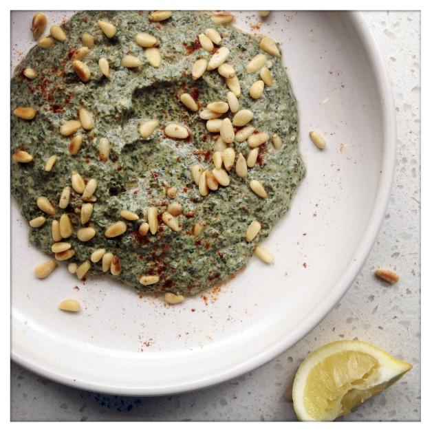 Spinach Yoghurt Dip 1
